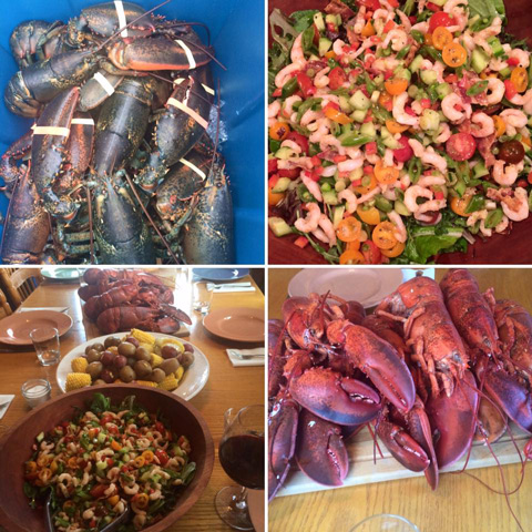Fogo Island Shrimp, Cod, Lobster & Crab!